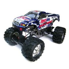 Ground Pounder 1/10 Scale Electric Monster Truck AMSOIL LICENSED