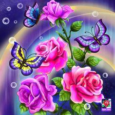 Butterfly Wallpaper, Pattern Wallpaper, Coloring Books, Flowers, Artwork, Plants, Pictures, Brain Fog, Butterflies