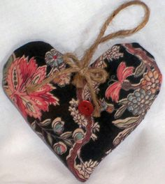 Exotic Botanical Organic French #Lavender  Heart-shaped Sachet #aromatherapy $7