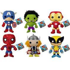 super hero plushies from funko