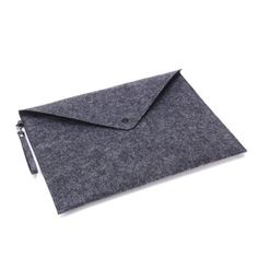 Chris-Wang 1Pc Portable Felt Snap Button A4 File Holder/ ...