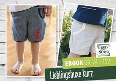eBook Lieblingsbuxe kurz von Fred von SOHO auf DaWanda.com