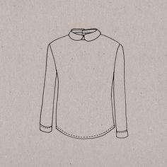 Plus que jamais avec cette chemise boutonnée dans le dos, l'habit ne fait pas le moine(eau). D'apparence simple et sage, grâce à sa lige structurée, son encolure haute et son col aux faux airs de jeune fille sage, Moineau soulignera votre petit air mutin. Réveillez la baby-doll qui sommeille en vous en choisissant des viscoses à motifs géométriques, du Liberty ou plus original du wax ! Vous pouvez aussi jouer la carte de la simplicité chic et ultra féminine en jouant sur les contrastes entre…