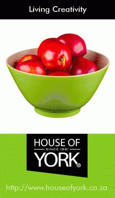 This beautiful green nature's bowl is made from bamboo and perfect for salads, fruits and snacks. They are available from House of York from only each. House Of York, Bamboo Products, Green Nature, Bright Green, Serving Bowls, Kitchen Decor, Salads, Creativity, Fan