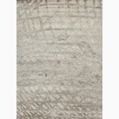 Handmade Abstract Pattern Ivory/ Gray Wool/ Silk Rug (5 x 8) | Overstock.com Shopping - Great Deals on JRCPL 5x8 - 6x9 Rugs