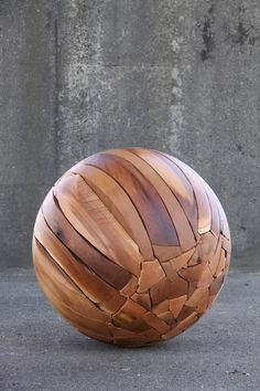 https://flic.kr/p/e92eUm   Shattered Sphere by Brent Comber   Touch Wood - an…
