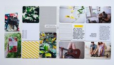 Pages by Heather Burris featuring the Midnight Edition, Sunshine Edition, and 3×4 Grid Cards.
