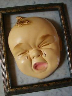 Your place to buy and sell all things handmade Baby Crying Face, Children Laughing, Crocodile Tears, Crybaby, Hush Hush, Creepy, Diy And Crafts, Weird, Goodies