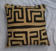 Kuba Cloth Pillow... Large