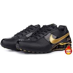 Nike Shox Nz Black Gold