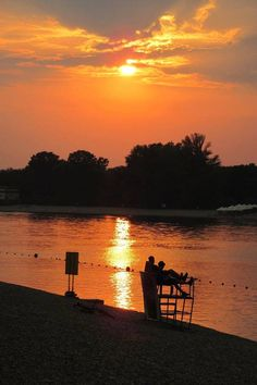 Sunset, Ada, Belgrade, SERBIA