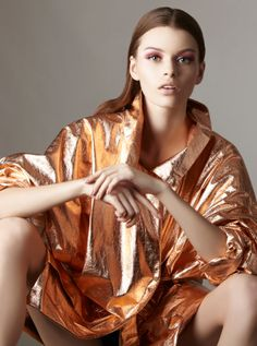 erika labanauskaite by oskar cecere for maire claire china