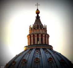 Lantern, Dome of St. Peter's Basilica