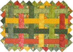 Table Toppers Quilt (includes patterns for Placemats, Table Runner, Square Table Topper & Trivet) pattern $10.00 on Craftsy at http://www.craftsy.com/pattern/quilting/home-decor/table-toppers-quilt-pattern/28935