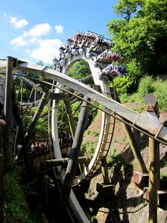 Nemesis @ Alton Towers (because we've been saying we'll go for over 6 years… Best Roller Coasters, Cool Coasters, Best Camera For Blogging, Places To Travel, Places To Visit, Thorpe Park, Planet Coaster, Adventurous Things To Do, Places Of Interest