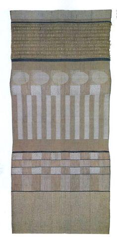 Good Gunta St lzl Bauhaus Master Wall hanging Silk and wool x cm Neue Sammlung