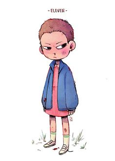 Patu Phan: Eleven from Stranger Things for Sketch Dailies
