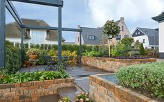 Luxury garden |  Architect, WnS Architecten  #luxury #villa #garden #tuininspiratie #inspiration