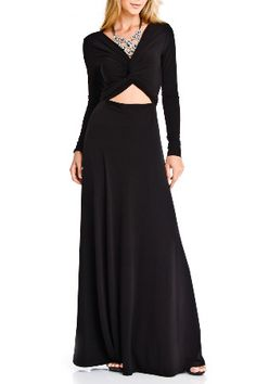 Issue NY Ada Front Tie Dress in Black