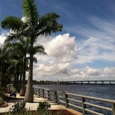 "See 134 photos from 860 visitors about fresh air, picnics, and shrimp. ""Beautiful views of the water, with nice shady spots to sit along the way"" Bradenton Florida, River Walk, Historical Sites, Attraction, Clouds, Vacation, Water, Travel, Outdoor"