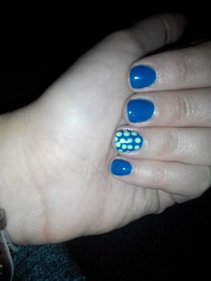 Shellac with dots