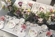 chá da tarde, com louça Botanica, de Tania Bulhões