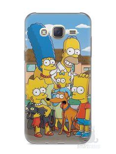 Capa Capinha Samsung J7 Família Simpsons #1 - SmartCases - Acessórios para celulares e tablets :)