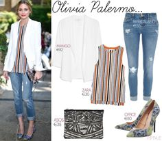 Olivia Palermo's style choices are celebrated on the daily here at pippa. She has a certain knack of putting together outfits E30, Beauty Style, Fashion Beauty, Asos, Zara, Olivia Palermo Style, Celebrities, How To Wear, Outfits