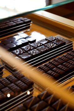 Dark chocolate #ganache #lamaisonduchocolat ©LaurentDupont