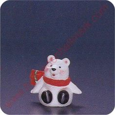 1994 Polar Bear - Merry Miniature - I Have TWO!!