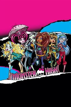 Explore the world of Monster High, where scary cool ghouls and guys hang out. Watch our creeperific Monster High videos for kids and play fun monster games and dolls. Monster High Cupcakes, Monster High Birthday, Monster High Party, Monster High Dolls, Monster High Bedroom, Monster High Pictures, Kid N Play, Personajes Monster High, Monster High Characters