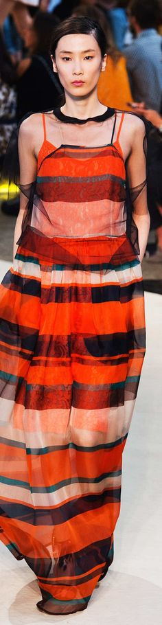 MSGM Collection Collection  Spring 2015 Couture 2015, Couture Fashion, Runway Fashion, Fashion Week 2015, Sheer Shirt, Classy Casual, Spring Summer 2015, Colorful Fashion, Pantone 2015