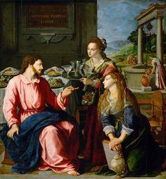 Cristo nella casa di Marta e Maria (1605)