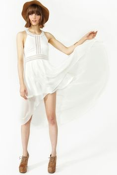 Angelina Tail Dress #dress