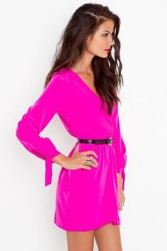 I'm just fallen in LoVE with this PINK dress