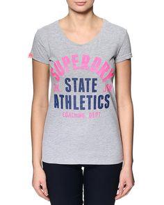 Super seje Superdry Trackster T-shirt Superdry T-shirt & Toppe til Damer til enhver anledning