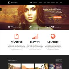 Thunder Responsive MultiPurpose WordPress Theme | WordPress Theme Download