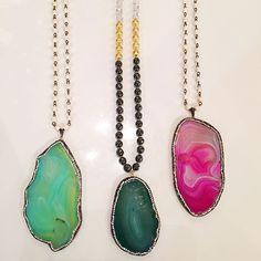 Gorgeous @lovesaffect necklaces at KK Bloom Boutique @kkbloomboutique