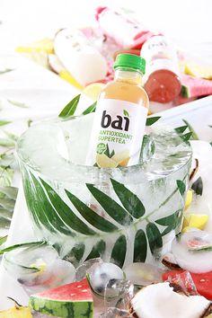 A Bubbly Life: DIY Palm Leaf Ice Bucket