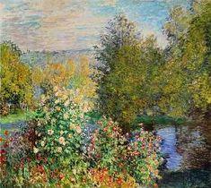 Claude Monet - A Corner of the Garden at Montgeron