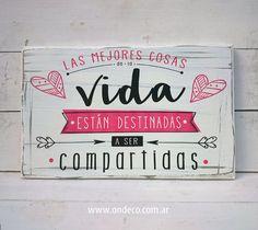 Letreros vintage | LAS MEJORES COSAS DE LA VIDA - comprar online