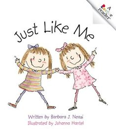Just Like Me (book for twin girls)