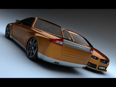 2009 Volvo V70 Pickup Concept Design by Bo Zolland - Duo 4 - 1024x768 - Wallpaper