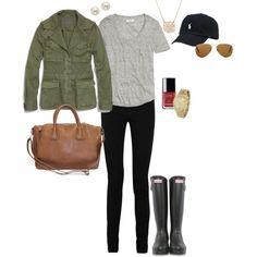 Olive and grey.