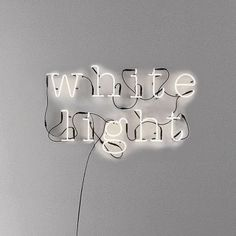 Neon lights A to Z and also symbols ! @ and number's If you've got something to say, why not say it in lights? Get your message across with these neon let Dot And Bo, White Aesthetic, Shades Of White, Lettering, Deco Design, Neon Lighting, Letters And Numbers, Metal Letters, White Light