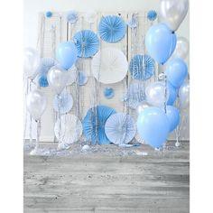 2017 виниловая ткань новорожденных день рождения воздушные шары, цветочные фоны фоны для photo studio фотография фотосессия портрет S-2283(China (Mainland))
