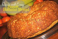Quick and Easy Bundt Banana Bread