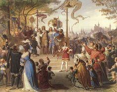 Munich et la Bavière, Louis II et Richard Wagner: Juin 1868. Première munichoise des Maîtres chanteu...