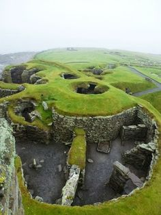 Bronze Age Settlement. Scotland
