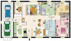1000 images about plan maison on pinterest for Maison 6 chambres